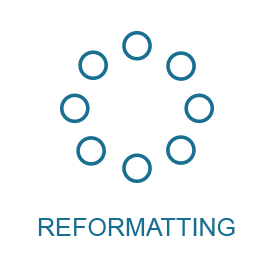 reformatting