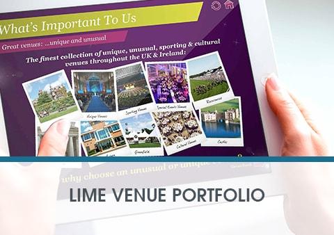 Lime Venue Interactive Presentation