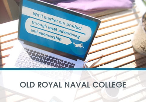 Old Royal Naval College Animated Presentation