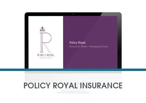 Policy Royal Insurance re-brand